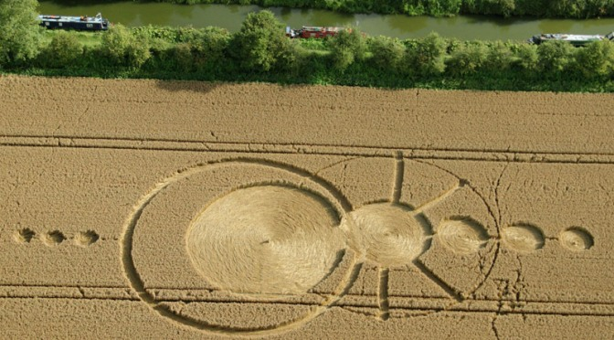 Aparece un nuevo crop circle en All Cannings, Wiltshire, UK