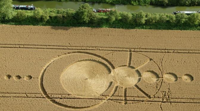 Aparece un nuevo crop circle en All Cannings, Wiltshire, UK