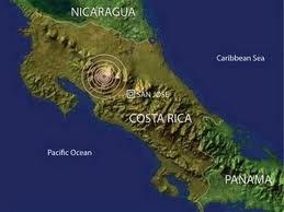 Un fuerte terremoto de 7.6 grados sacude Costa Rica