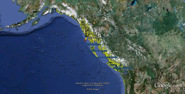 Terremoto Alaska 7.7 05.01.13