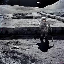 Impresionantes Estructuras Artificiales en La Luna