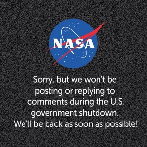 NASA - We are closed