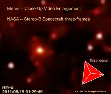 Elenin-tetrahedron-comet