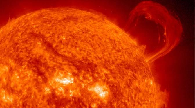 El campo magnético del sol revierte su polaridad
