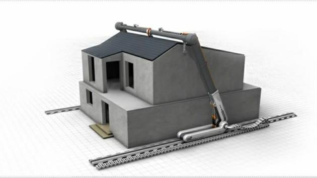 Tecnología de futuro: Casas en 3D en menos de un día