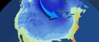 """Un segundo """"Vórtice Polar"""" podría golpear la costa este de EE.UU."""