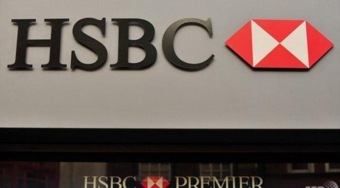 El banco HSBC restringe grandes retiros de efectivo