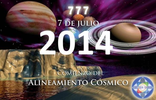 Alineamiento Cósmico 7-7-7