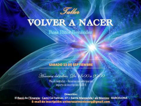 Taller Volver a Nacer (Rosa Hitos) - 13.09.2014