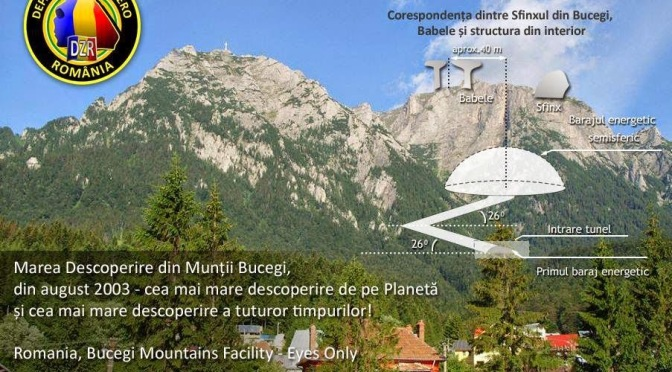 La base alienígena de las Montañas de Bucegi – Rumania